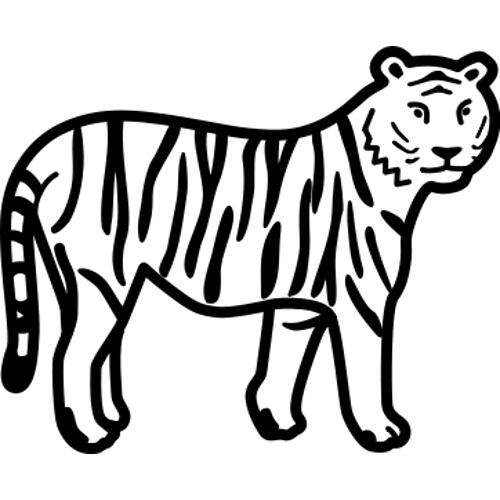 Kolorowanka Kot Tygrys 2 Kolorowanka Do Wydruku Darmowe