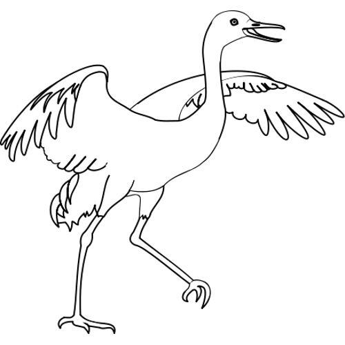 Kolorowanka Ptaki Bocian Kolorowanka Do Wydruku Darmowe