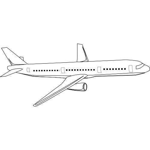 Kolorowanka Samolot Pasazerski Kolorowanka Do Wydruku Darmowe
