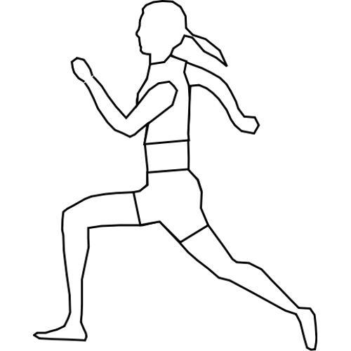 Kolorowanka Sport Bieg Kobiety Kolorowanka Do Wydruku Darmowe