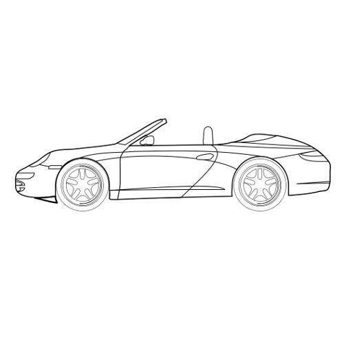 Kolorowanki Sportowe Auto Bez Dachu Kolorowanka Do Wydruku Darmowe