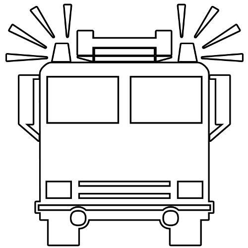 Kolorowanki Ciężarówki Straż Pożarna Kolorowanka Do Wydruku Darmowe