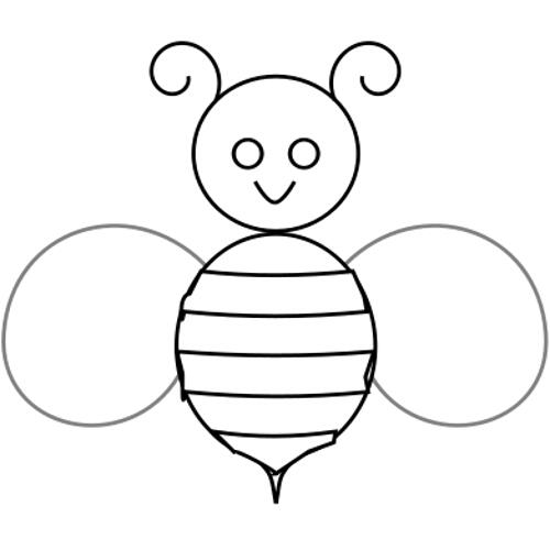 Kolorowanki Prosta Pszczola Kolorowanka Do Wydruku Darmowe