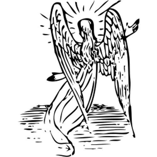 Kolorowanki Religijne Aniol 3 Kolorowanka Do Wydruku Darmowe