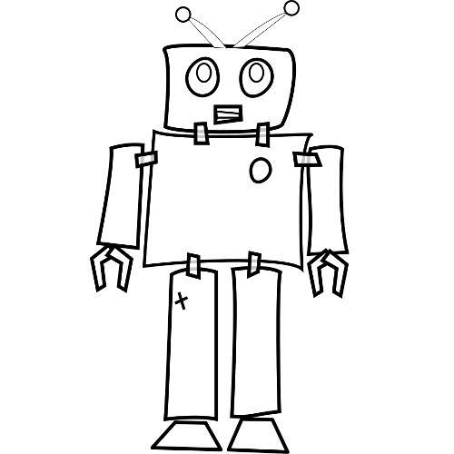 Kolorowanki Roboty Robot 19 Kolorowanka Do Wydruku Darmowe