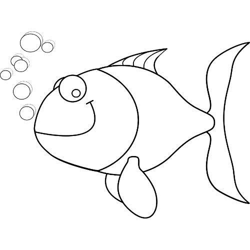 Ryby Darmowe Kolorowanki Dla Dzieci
