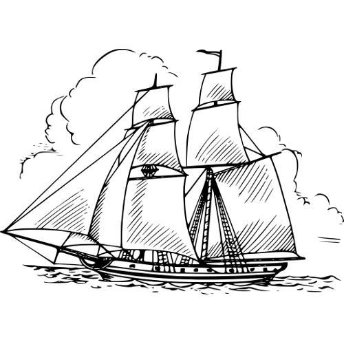 Kolorowanka Statek Na Morzu Kolorowanka Do Wydruku Darmowe