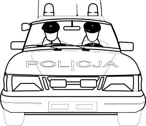 Kolorowanki Policja Kolorowanka Do Wydruku Darmowe